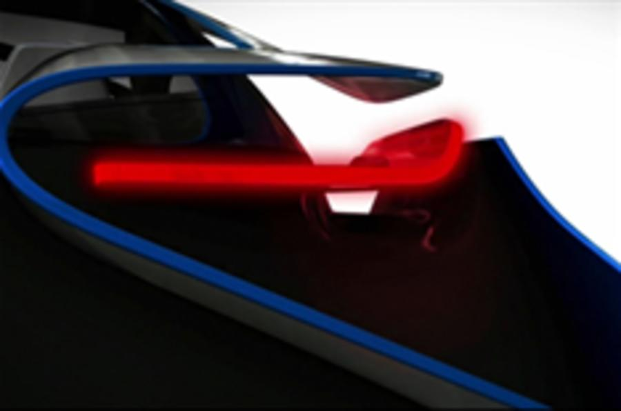 BMW teases eco sports car