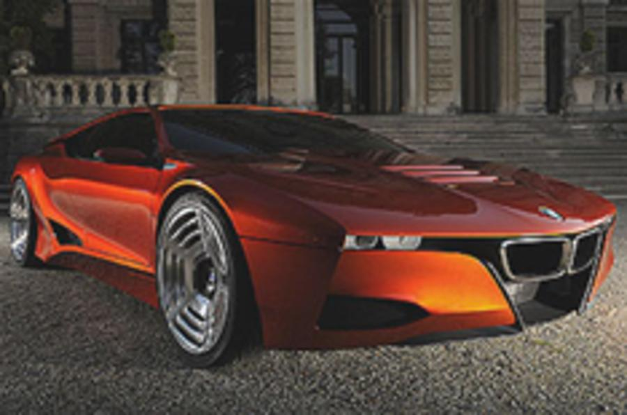 BMW pays homage to the M1
