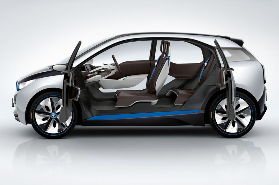 Frankfurt show: new BMW i3