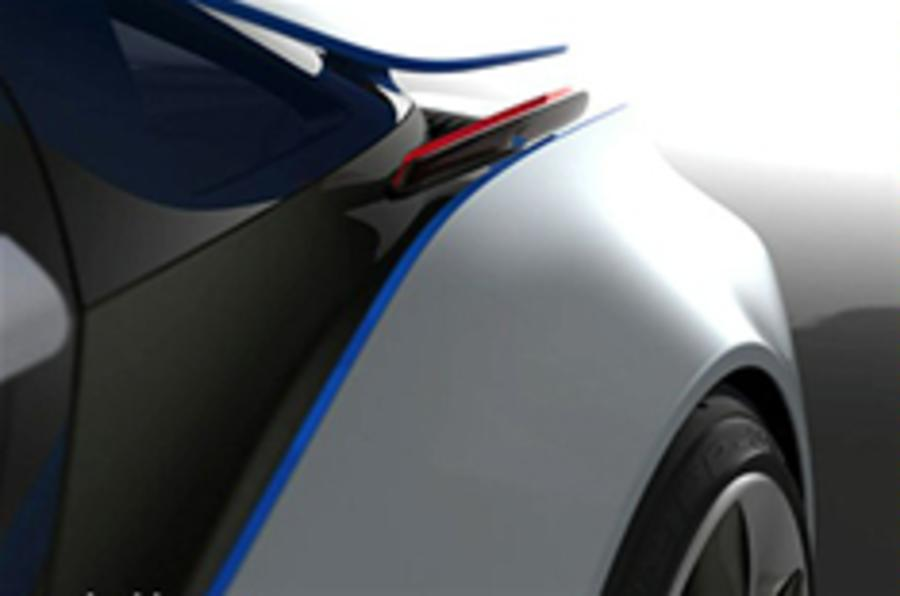 New BMW eco car teaser pic