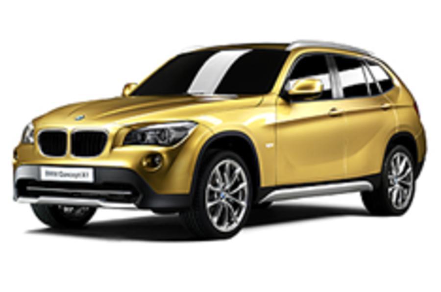 Paris show: BMW X1
