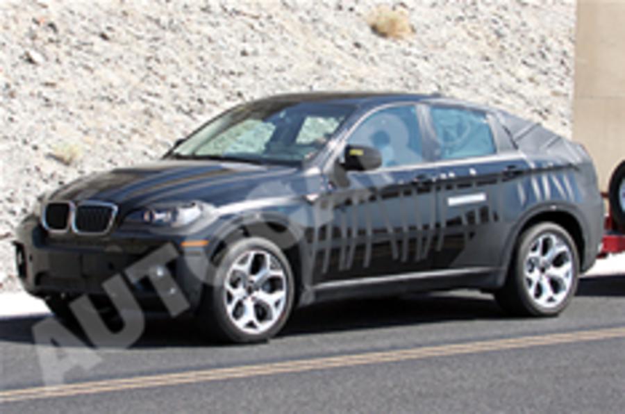 Spied: BMW X6 hybrid