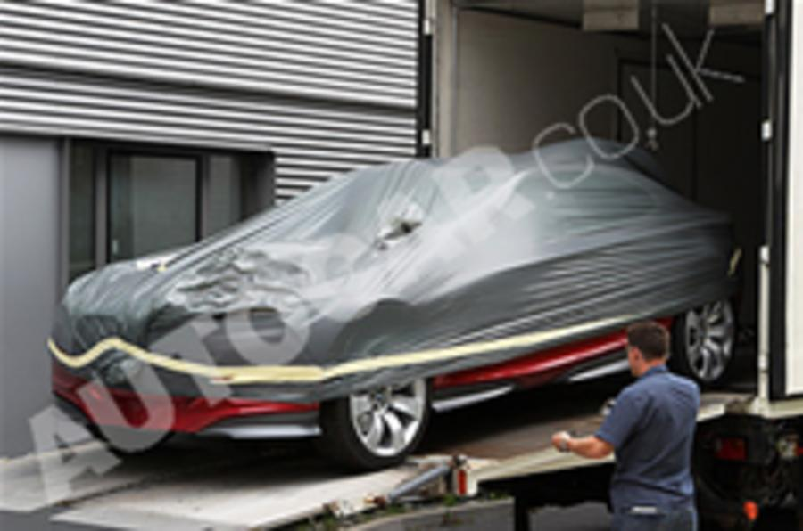 BMW coupe concept spied