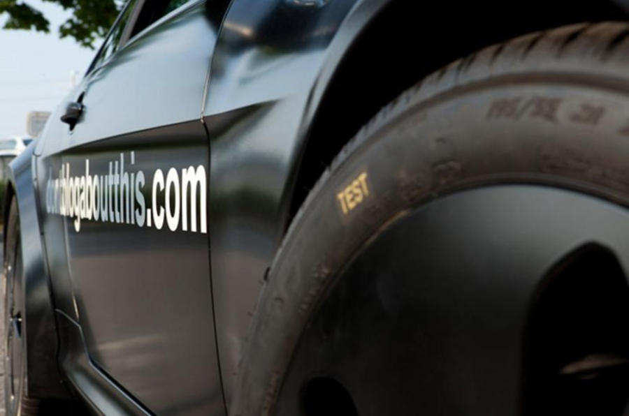 BMW site shows secret sports car