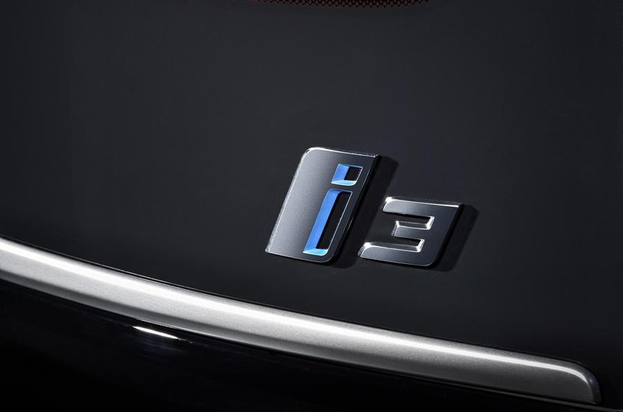 BMW i3 badging