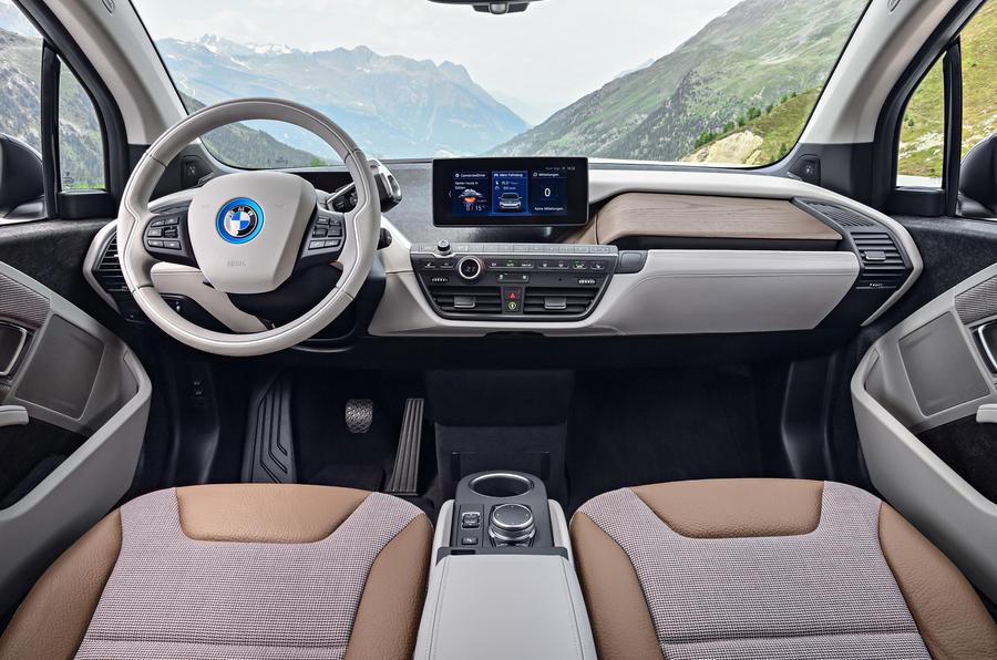 ... BMW I3 Dashboard ...