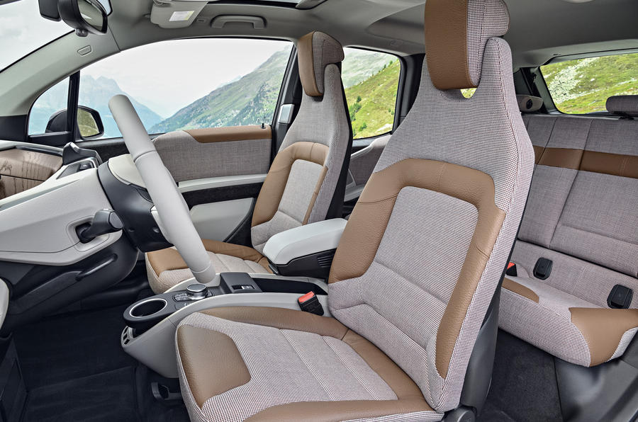 BMW i3 front seats