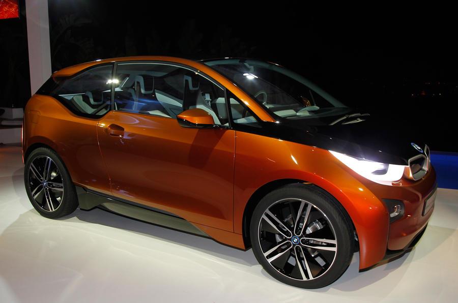 New York motor show: BMW i3