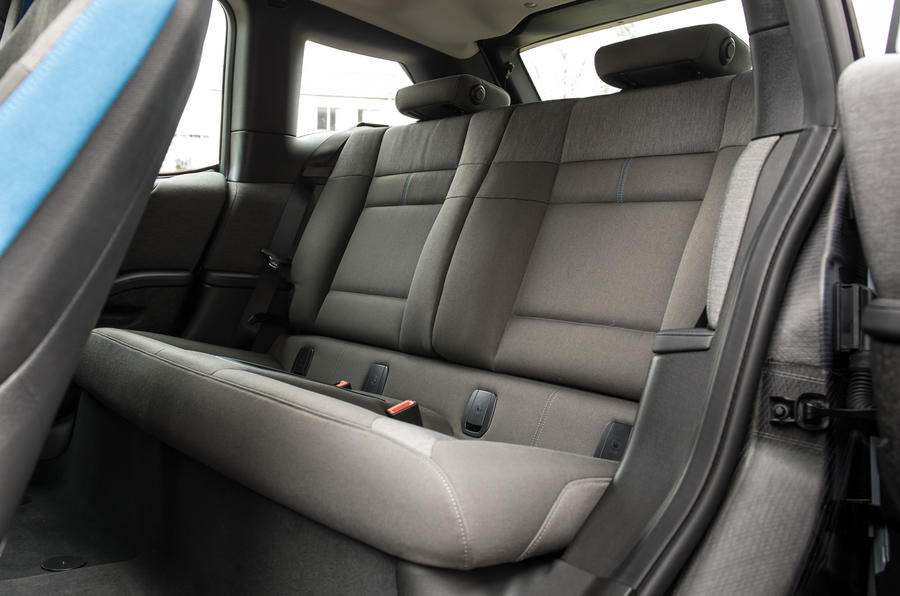 BMW i3 range extender rear seats