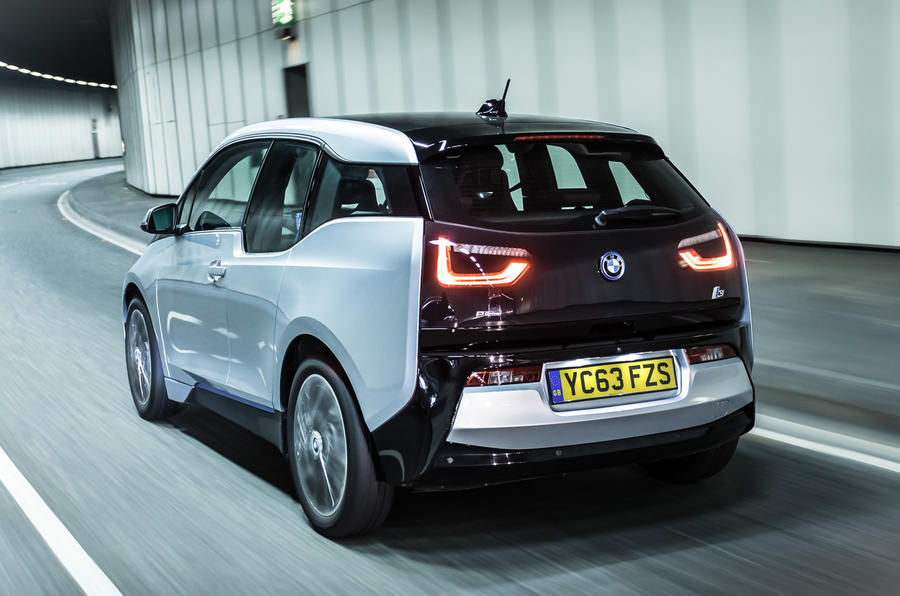 BMW i3 range extender rear
