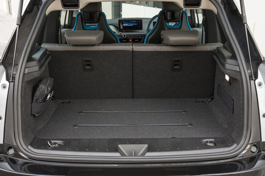 BMW i3 range extender boot space