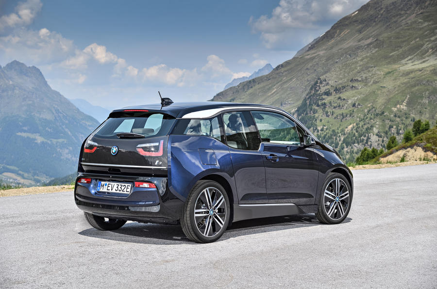 BMW i3 rear quarter