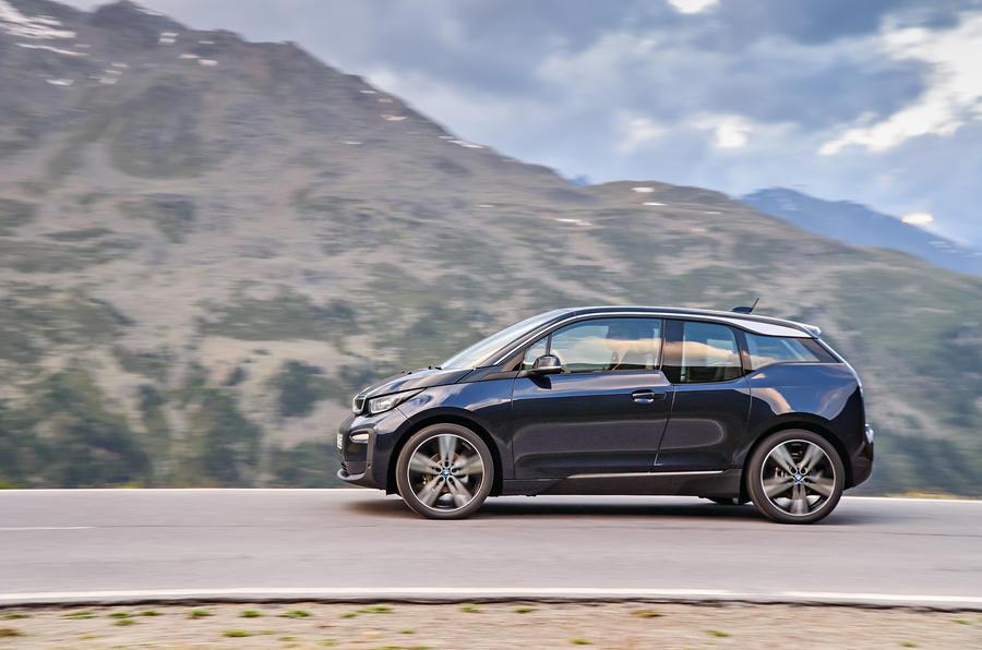 BMW i3 side profile