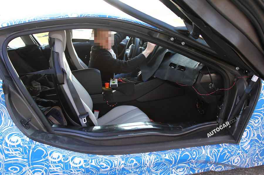 bmw i8 interior production. production bmw i8 uncovered latest spy pics bmw interior