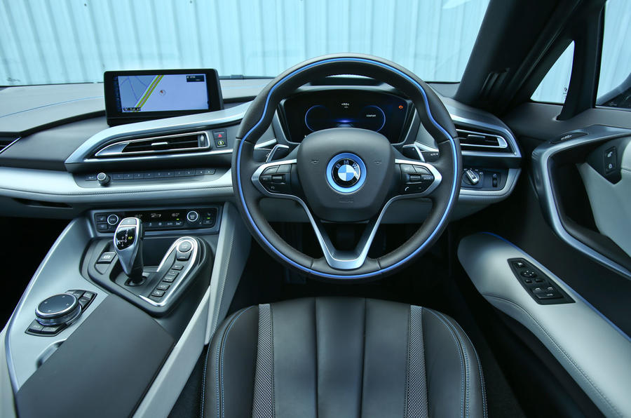 BMW I8 Interior | Autocar