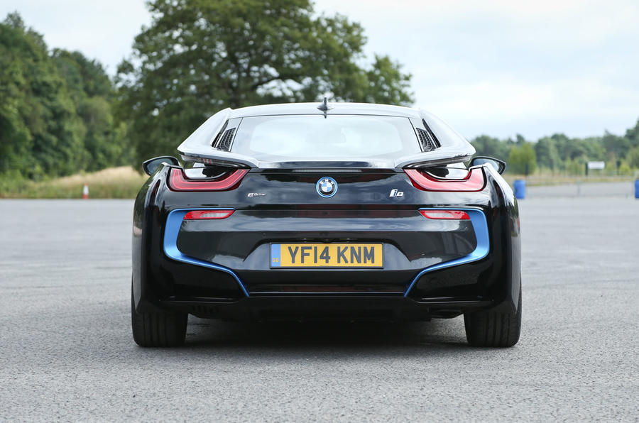 BMW I8 Rear End