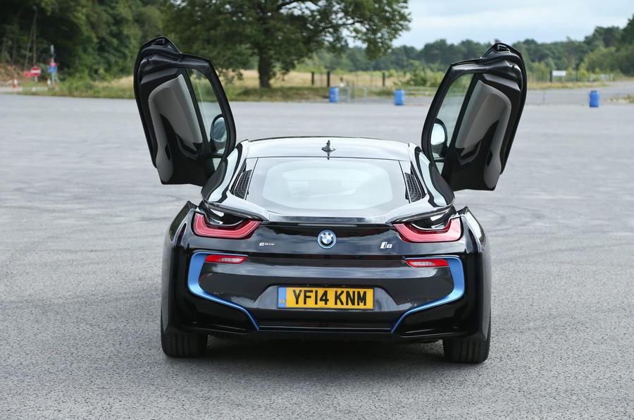 Hybrid supercar BMW i8