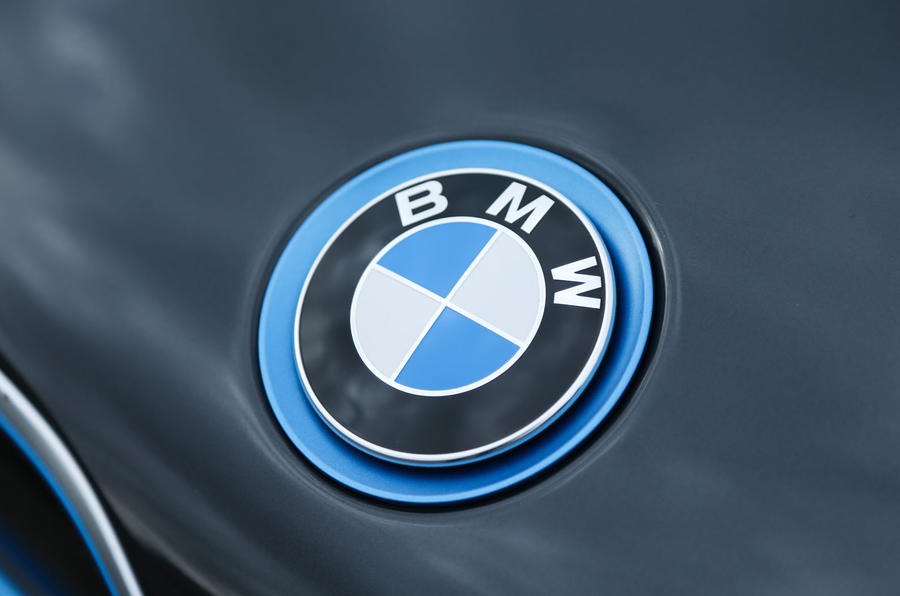 Blue BMW badge
