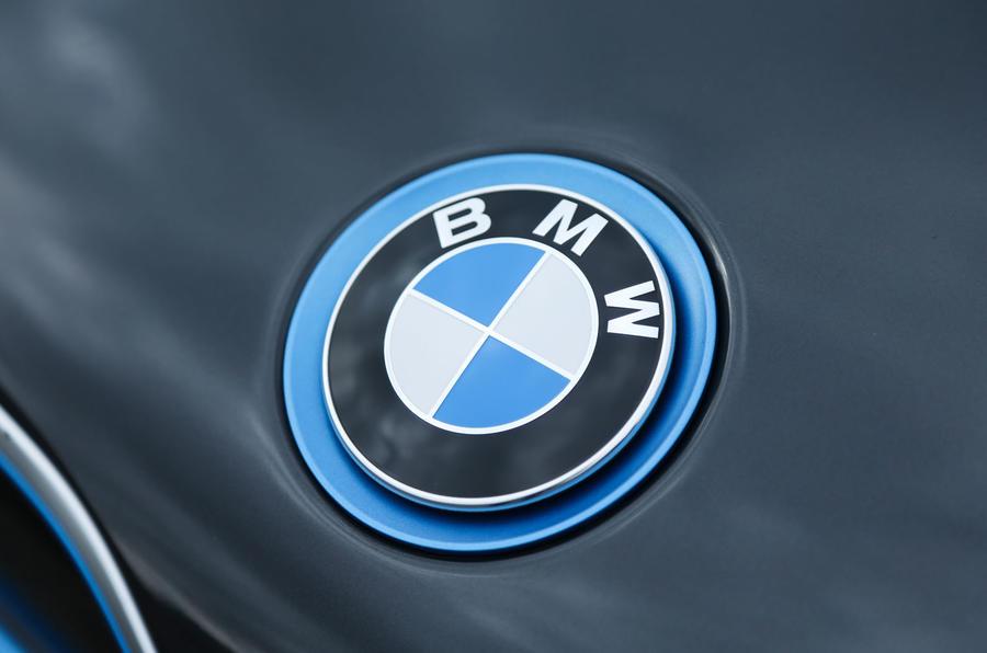 Blue BMW badge