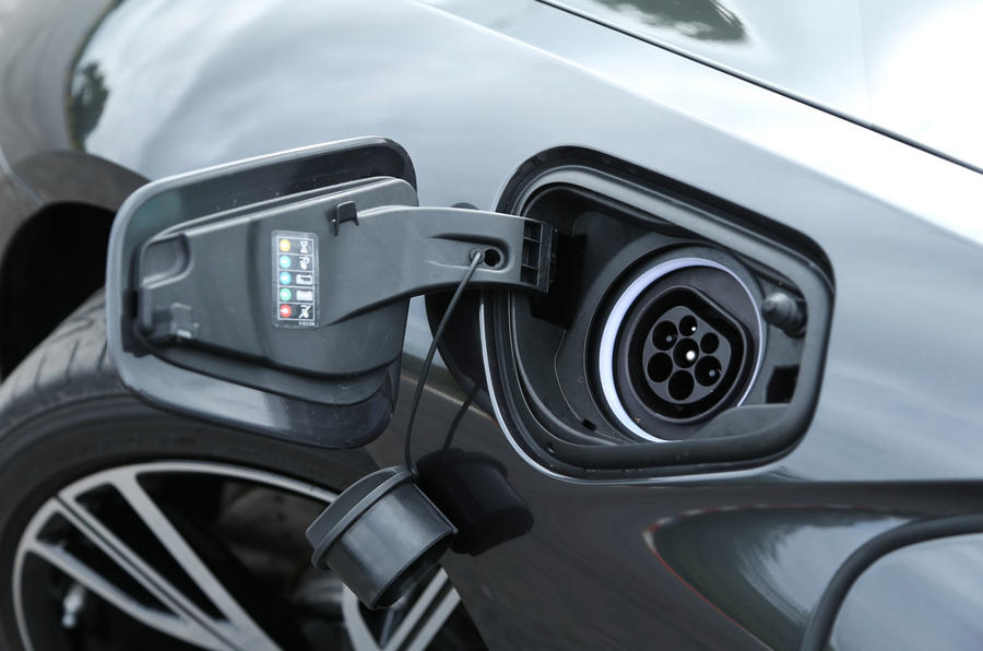 Electric point on BMW i8