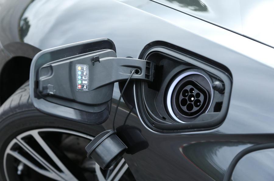 Electric point on BMW i8