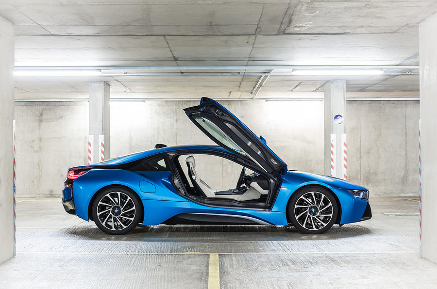 BMW i8 doors opened