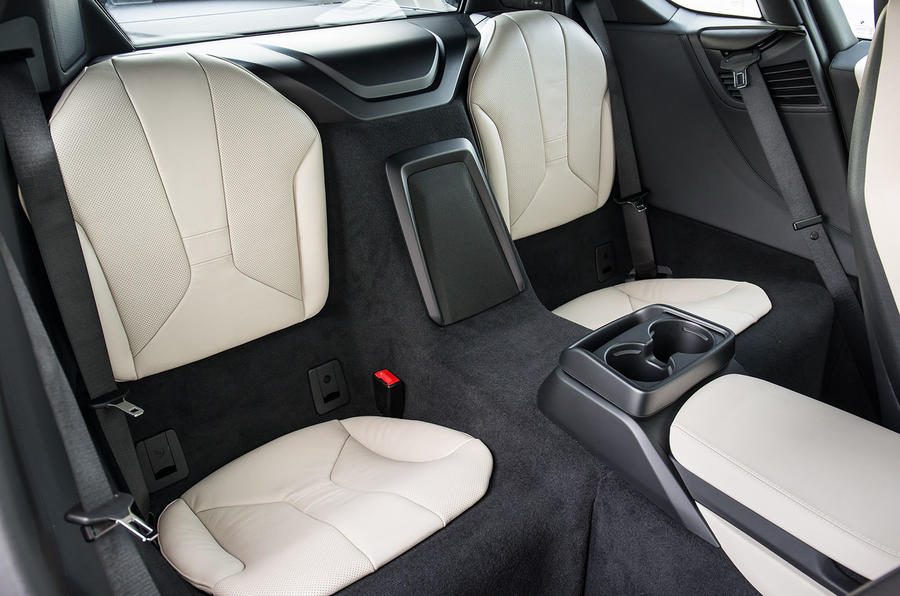 BMW i8 rear seats