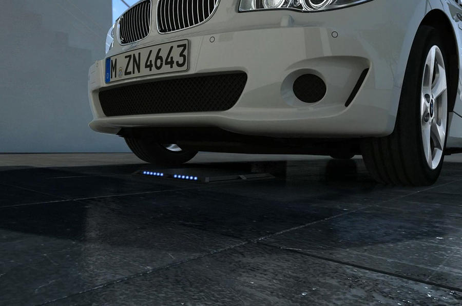 BMW working on wireless charging tech