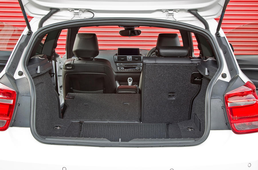 BMW M135i boot space
