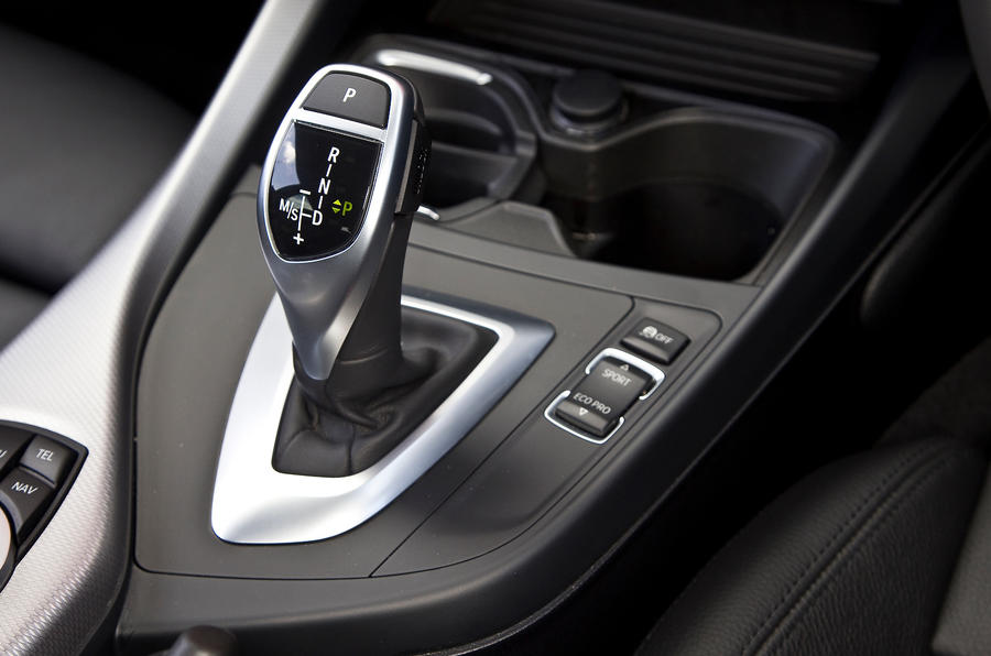 BMW M135i auto gearbox