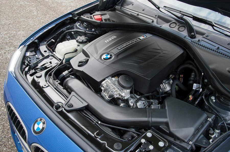 3.0-litre BMW M135i engine