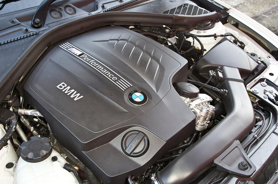 BMW M135i turbocharged 3.0-litre engine