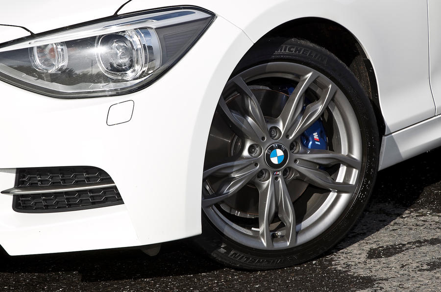 BMW M135i LED headlights