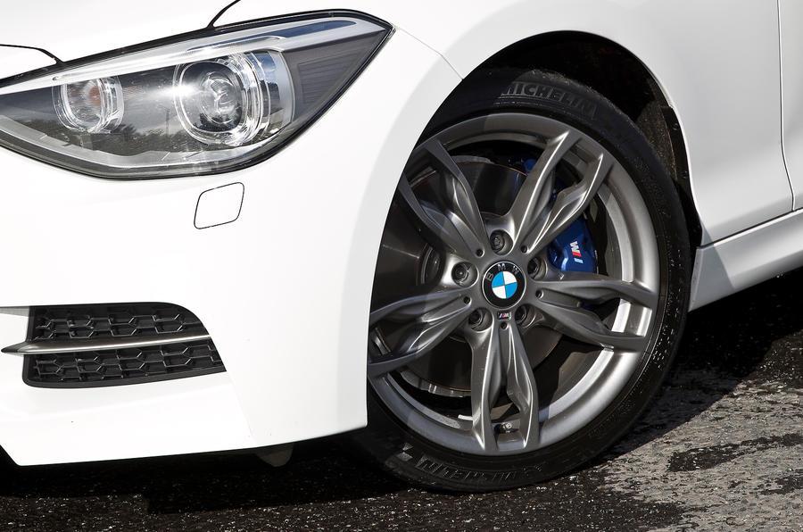 BMW M135i LED headlights