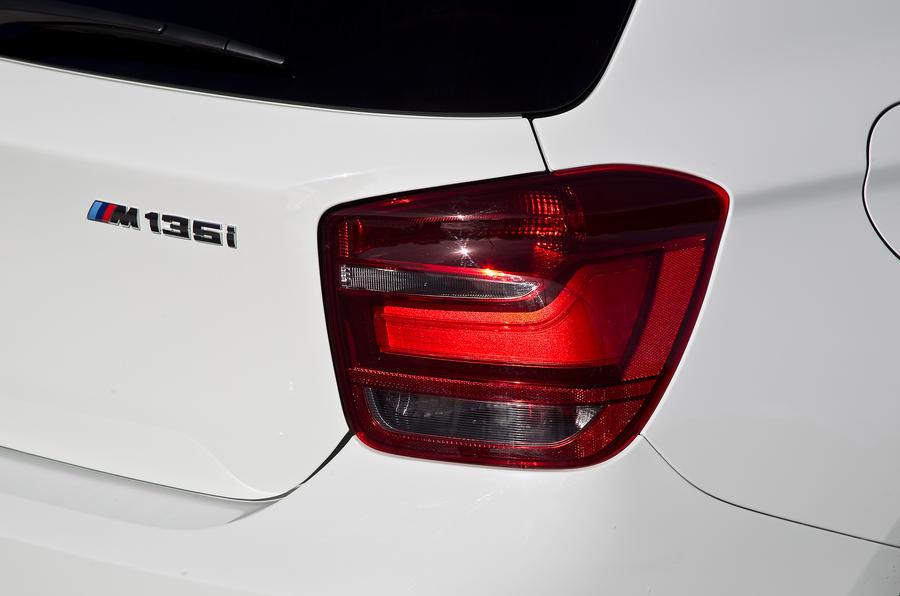 BMW M135i tailights