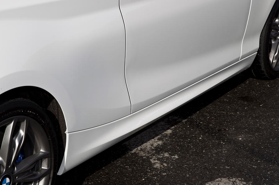 BMW M135i side skirts