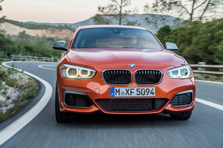 Adaptive LED BMW M135i headlights