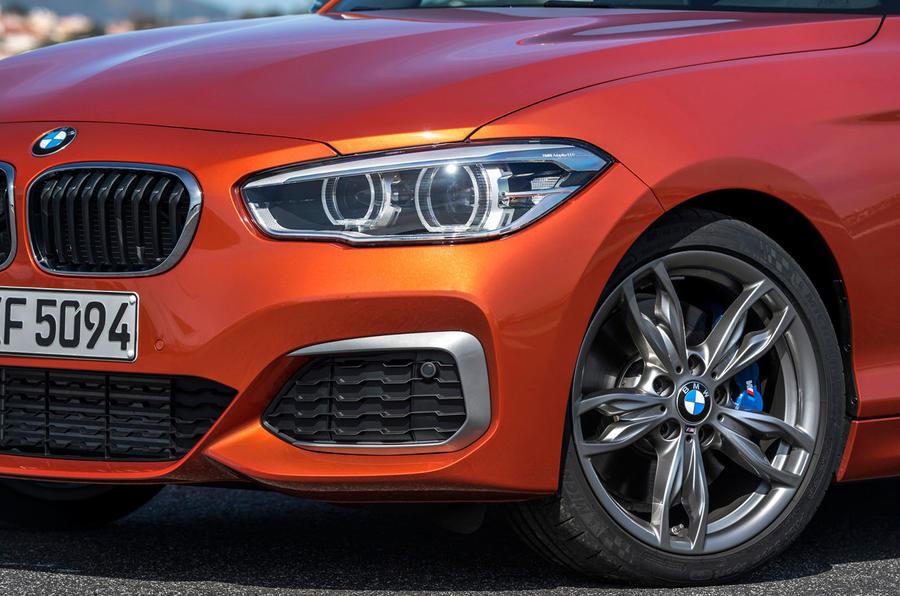BMW M135i LED day-running lights