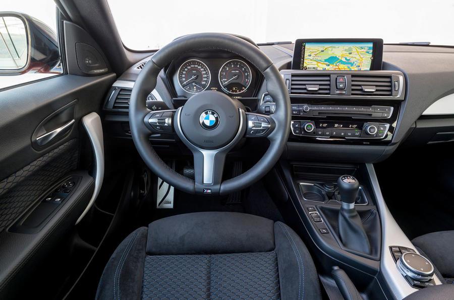 BMW M135i's interior