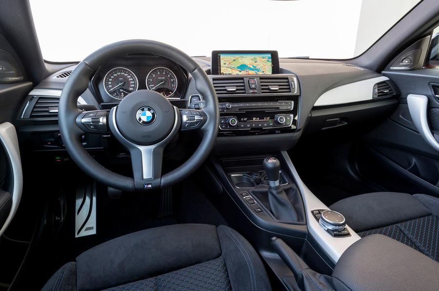 BMW M135i's dashboard