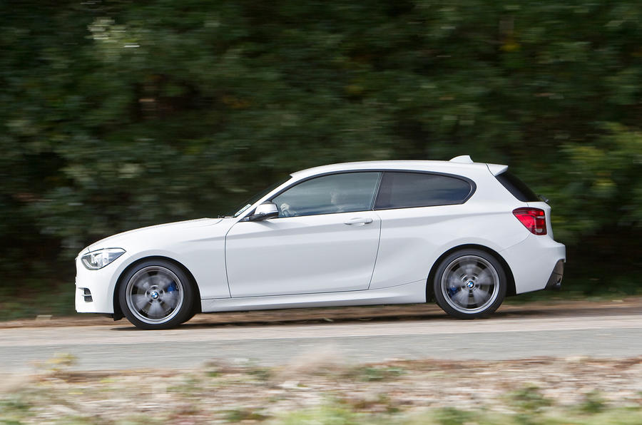 BMW M135i side profile