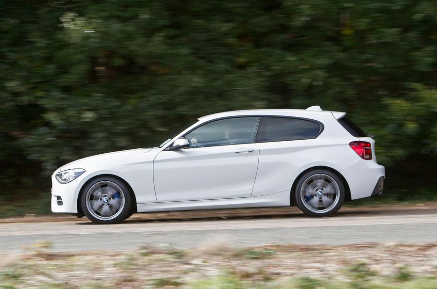 BMW M135i side profile