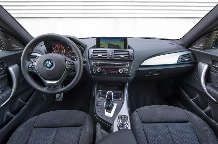 BMW M135i dashboard