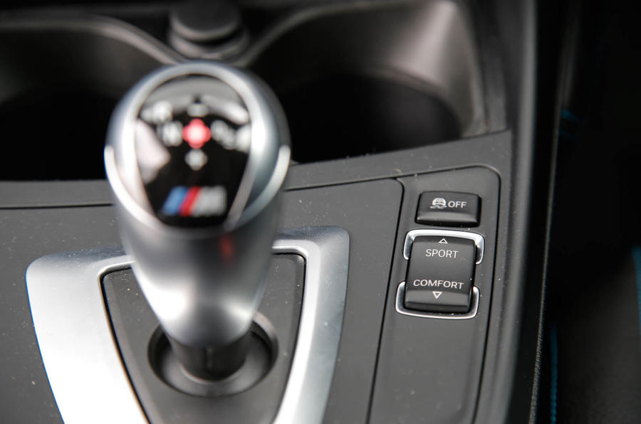 BMW M2 DCT auto gearbox
