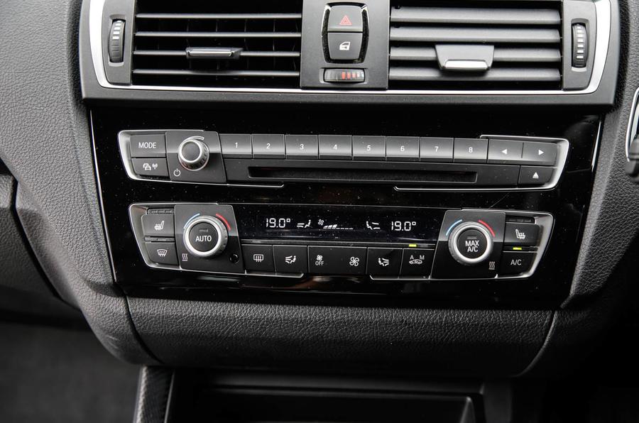 BMW M2 centre console