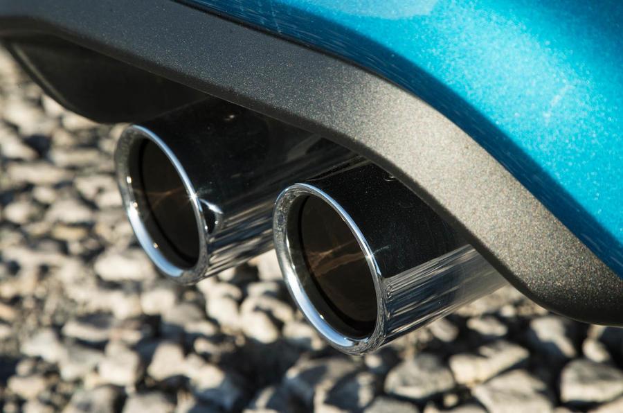 BMW M2 quad exhaust