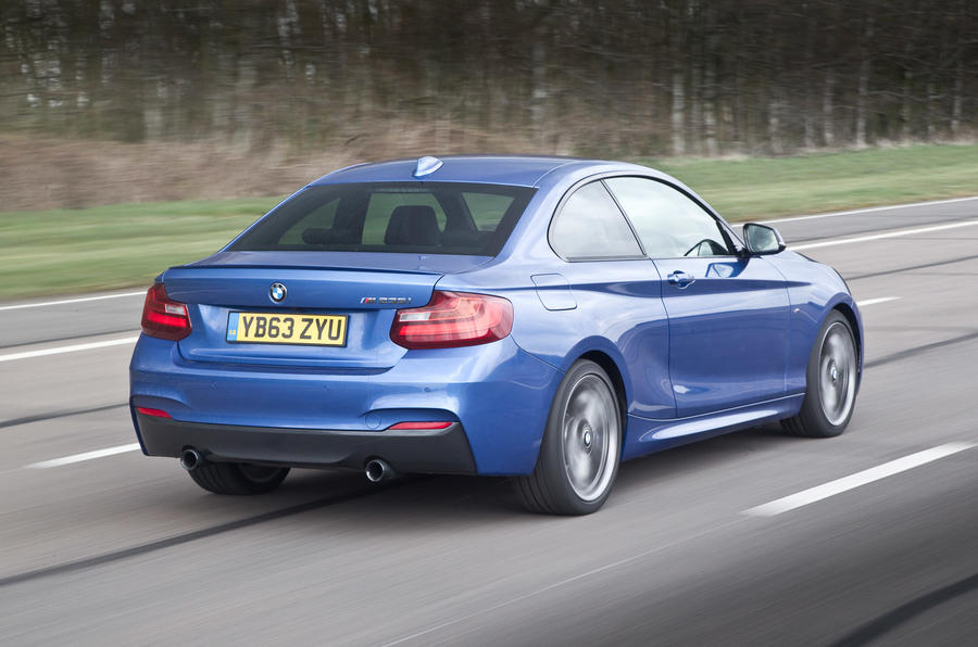 BMW M235i does 0-62mph in 5 seconds