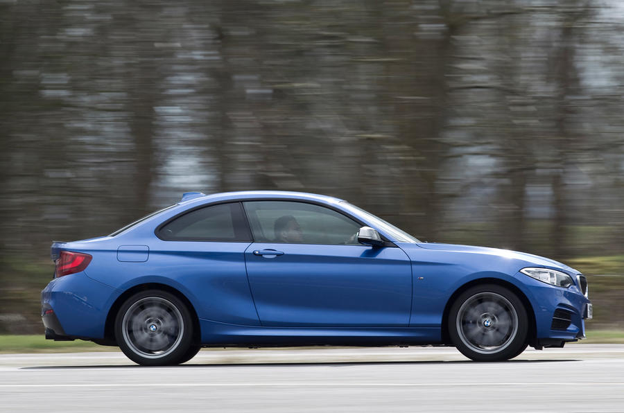 BMW M235i side profile