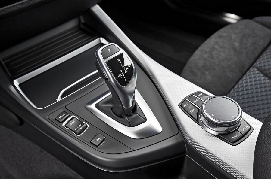 BMW M240i automatic gearbox