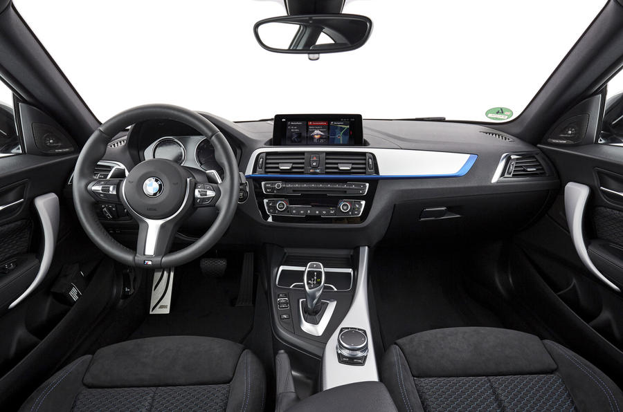 BMW M240i dashboard